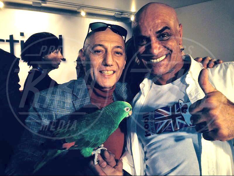 Francesco Lombardi, Ghyblj, Giuliano Palma - amore - Sanremo - 22-02-2014 - Diario di Amore, il pappagallo del Papa, da Sanremo