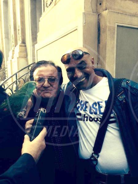Francesco Lombardi, Ghyblj, Leone di Lernia - amore - Sanremo - 22-02-2014 - Diario di Amore, il pappagallo del Papa, da Sanremo