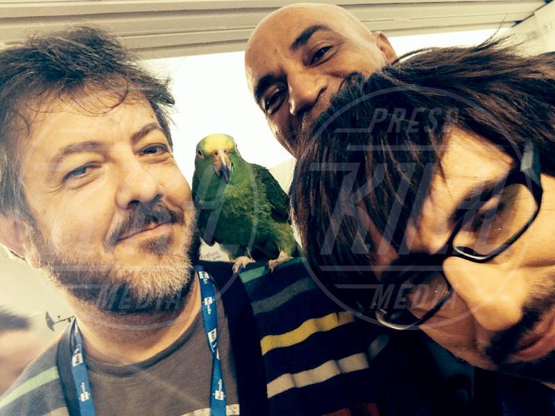 Francesco Lombardi, Ghyblj, Elio e le Storie tese, Faso - amore - Sanremo - 22-02-2014 - Diario di Amore, il pappagallo del Papa, da Sanremo