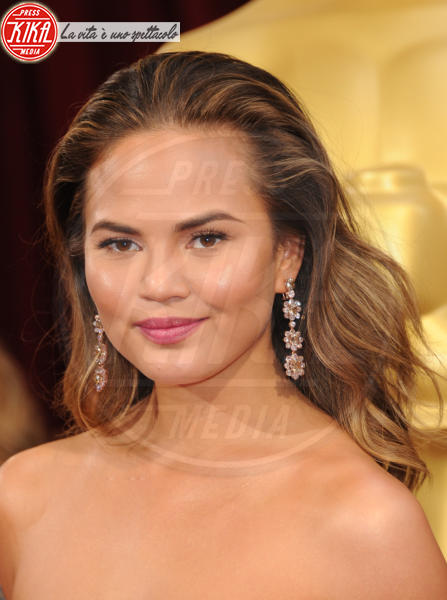 Christine Teigen - Hollywood - 02-03-2014 - 86th Oscar: sfida all'ultima acconciatura