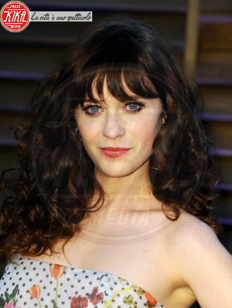 Zooey Deschanel - Hollywood - 02-03-2014 - 86th Oscar: sfida all'ultima acconciatura