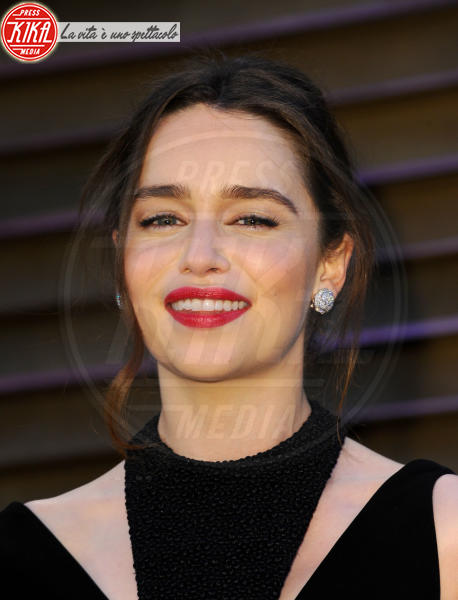 Emilia Clarke - Hollywood - 02-03-2014 - 86th Oscar: sfida all'ultima acconciatura