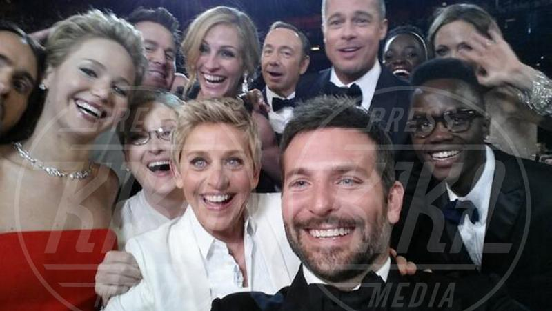 Lupita Nyong'o, Maryl Streep, Bradley Cooper, Jared Leto, Kevin Spacey, Elen DeGeneres, Angelina Jolie, Brad Pitt - Hollywood - 02-03-2014 - Kevin Spacey: arrivano tre nuovi pesanti accuse
