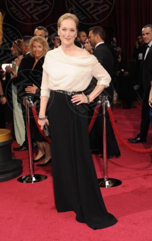 Meryl Streep - Hollywood - 02-03-2014 - Camicia bianca e gonna nera: un look… evergreen!