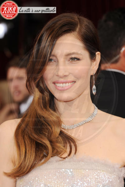 Jessica Biel - Hollywood - 02-03-2014 - 86th Oscar: sfida all'ultima acconciatura