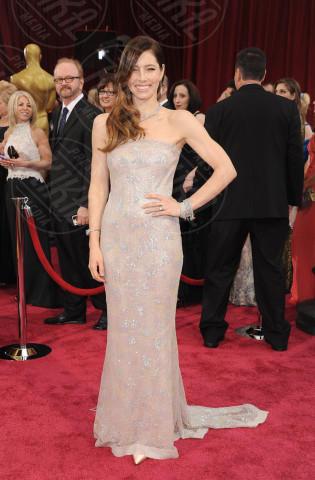 Jessica Biel - Hollywood - 02-03-2014 - Oscar dell'eleganza 2010-2014: 5 anni di best dressed