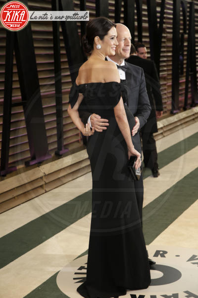 Emma Heming, Bruce Willis - Los Angeles - 02-03-2014 - Vade retro abito! Le scelte delle star agli 86th Oscar
