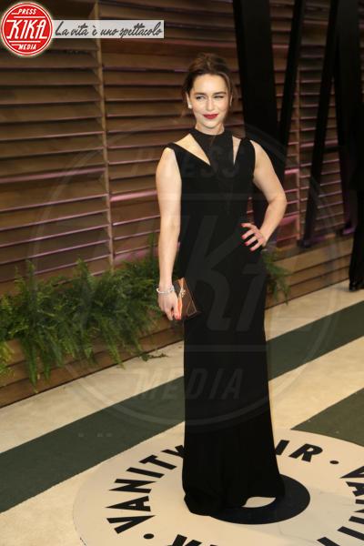 Emilia Clarke - Los Angeles - 02-03-2014 - Vade retro abito! Le scelte delle star agli 86th Oscar