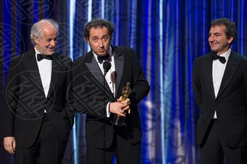 Toni Servillo, Paolo Sorrentino, Nicola Giuliano - Hollywood - 02-03-2014 - La Mentalità Mafiosa porta la tv italiana a Hollywood