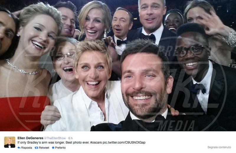 Ellen DeGeneres - 03-03-2014 - Oscar: ricordiamo i momenti indimenticabili
