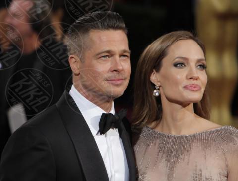 Angelina Jolie, Brad Pitt - Los Angeles - 02-03-2014 - Jolie-Pitt: nuovo accordo per l'estate sulla custodia dei figli