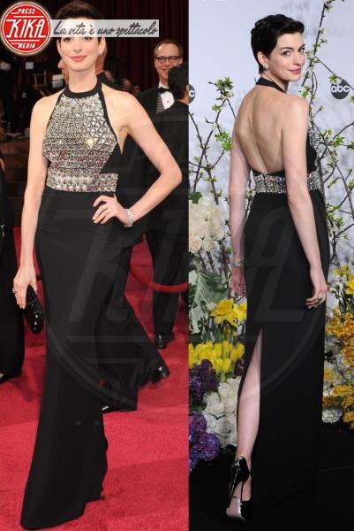 Anne Hathaway - 03-03-2014 - Vade retro abito! Le scelte delle star agli 86th Oscar