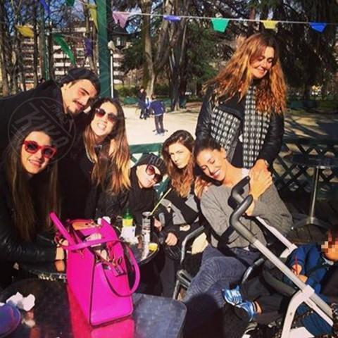 Santiago De Martino, Belen Rodriguez - Milano - 04-03-2014 - Dillo con un tweet: Emma Marrone, da quando sei così magra?