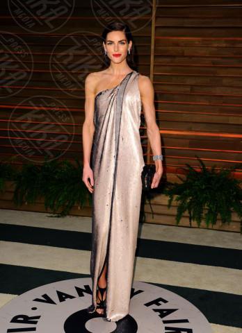Hilary Rhoda - West Hollywood - 02-03-2014 - Sul red carpet come una dea: il ritorno del monospalla
