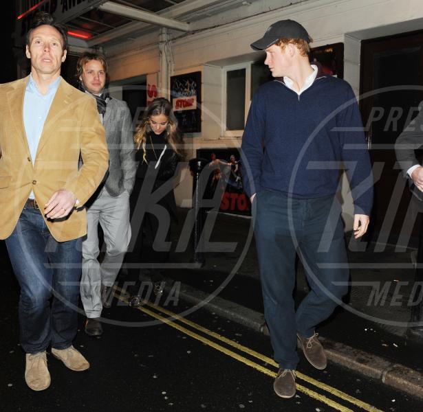 Cressida Bonas, Sam Branson, Principe Harry - Londra - 03-03-2014 - Principe Harry: i 30 anni dello scapolo più ambito al mondo