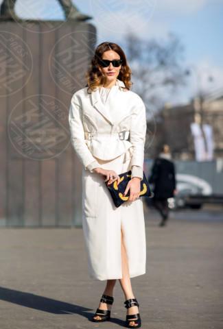 Ece Sukan - Parigi - 04-03-2014 - En pendant con l'inverno con un cappotto bianco