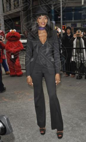 Naomi Campbell - New York - 05-03-2014 - Il collarino effetto Belle Epoque: le star prese per il collo!
