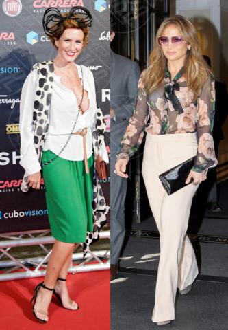 Lucrezia Lante della Rovere, Jennifer Lopez - 06-03-2014 - Bianca, colorata o fantasia: qual è la tua camicia?