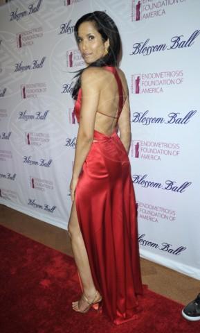 Padma Lakshmi - New York - 07-03-2014 - Sul red carpet come una dea: il ritorno del monospalla