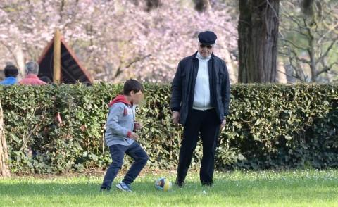 Gabriele Placido, Michele Placido - Roma - 09-03-2014 - Mammo son tanto felice, il lato paterno dei vip
