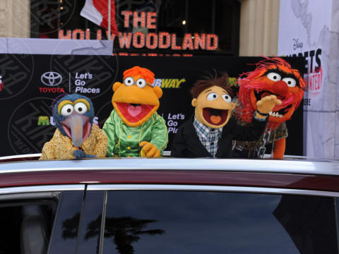 The Muppets - Hollywood - 11-03-2014 - Sale l'attesa per il debutto in Italia di The Muppets - la serie