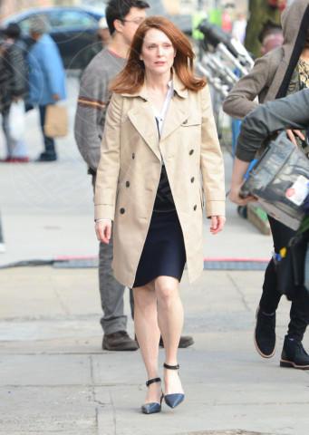 Julianne Moore - New York - 11-03-2014 - Julianne Moore, estro e fantasia sul red carpet