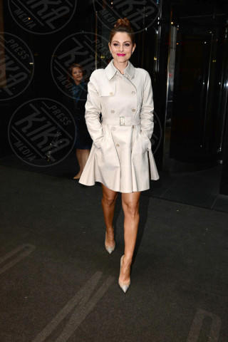 Maria Menounos - New York - 14-03-2014 - L'autunno è alle porte: è tempo di trench!