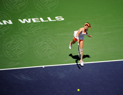 Agnieszka Radwanska - Indian Wells - 16-03-2014 - Flavia Pennetta, la million dollar baby dell'Indian Wells