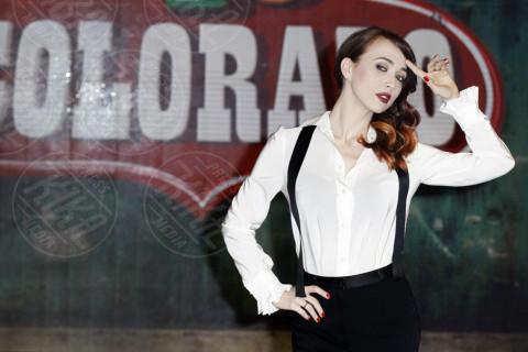 Chiara Francini - Milano - 17-03-2014 - Chiara Francini: look (maschile) che vince non si cambia!