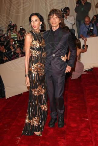 L'Wren Scott, Mick Jagger - New York - 02-05-2011 - Morta la fidanzata di Mick Jagger: si sarebbe suicidata