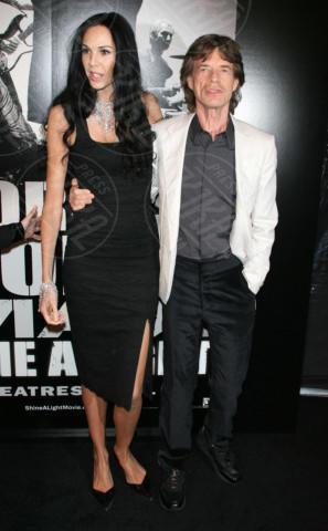 L'Wren Scott, Mick Jagger - New York - 30-03-2008 - Morta la fidanzata di Mick Jagger: si sarebbe suicidata