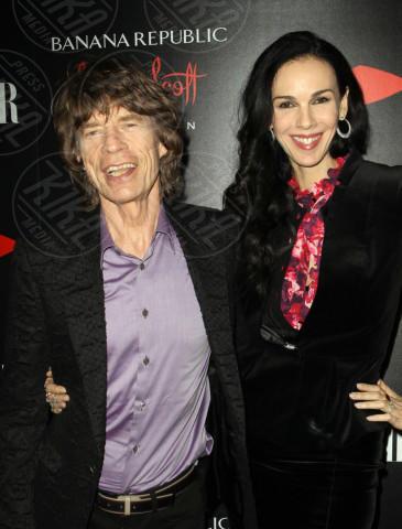 L'Wren Scott, Mick Jagger - Los Angeles - 20-11-2013 - Morta la fidanzata di Mick Jagger: si sarebbe suicidata