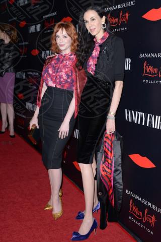 L'Wren Scott, Christina Hendricks - West Hollywood - 19-11-2013 - Morta la fidanzata di Mick Jagger: si sarebbe suicidata