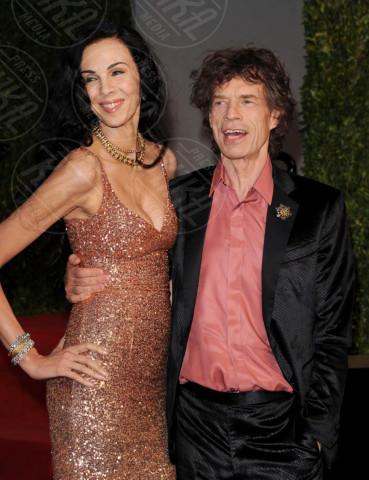 L'Wren Scott, Mick Jagger - Los Angeles - 27-02-2011 - Morta la fidanzata di Mick Jagger: si sarebbe suicidata