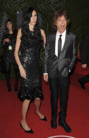 L'Wren Scott, Mick Jagger - West Hollywood - 22-02-2009 - Morta la fidanzata di Mick Jagger: si sarebbe suicidata