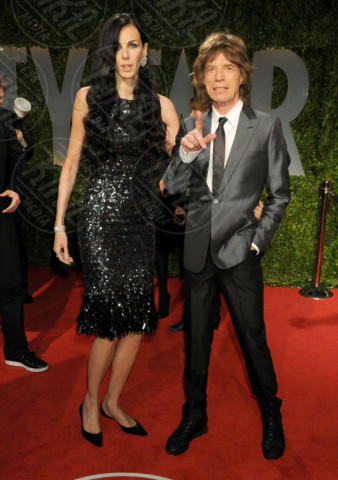L'Wren Scott, Mick Jagger, Gwen Stefani - West Hollywood - 22-02-2009 - Morta la fidanzata di Mick Jagger: si sarebbe suicidata