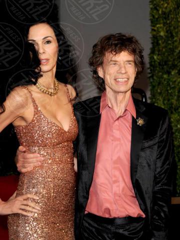 L'Wren Scott, Mick Jagger - West Hollywood - 27-02-2011 - Morta la fidanzata di Mick Jagger: si sarebbe suicidata