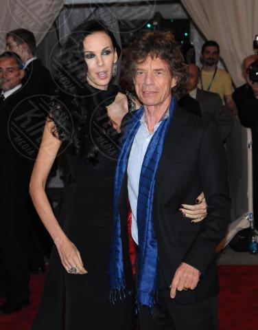 L'Wren Scott, Mick Jagger - New York - 03-05-2010 - Morta la fidanzata di Mick Jagger: si sarebbe suicidata