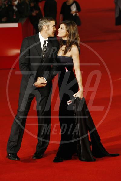 Elisabetta Canalis, George Clooney - Roma - 17-10-2009 - George Clooney papà: tutte le ex fidanzate