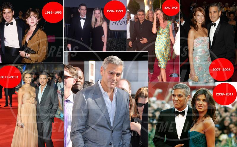 fidanzata, George Clooney - Hollywood - 19-03-2014 - George Clooney: quante fidanzate, per arrivare ad Amal!