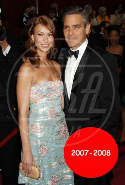 Sarah Larson, George Clooney - Hollywood - 24-02-2008 - George Clooney papà: tutte le ex fidanzate