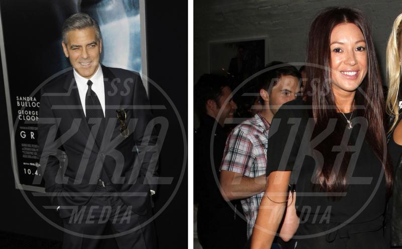 Monika Jakisic, George Clooney - New York - 01-10-2013 - George Clooney papà: tutte le ex fidanzate