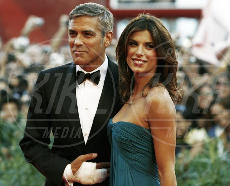 Elisabetta Canalis, George Clooney - Venezia - 08-09-2009 - George Clooney papà: tutte le ex fidanzate
