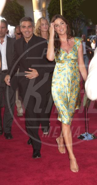 Lisa Snowdon, George Clooney - Los Angeles - 15-07-2004 - George Clooney papà: tutte le ex fidanzate