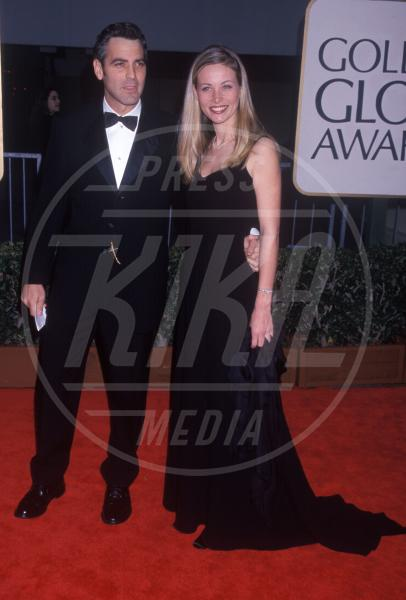 Celine Balitran, George Clooney - Hollywood - 18-01-1998 - George Clooney papà: tutte le ex fidanzate