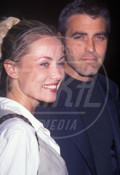 Celine Balitran, George Clooney - Hollywood - 04-04-1997 - George Clooney papà: tutte le ex fidanzate
