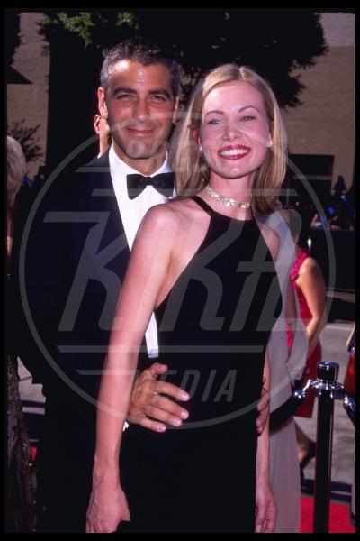 Celine Balitran, George Clooney - Los Angeles - 05-09-1996 - George Clooney papà: tutte le ex fidanzate