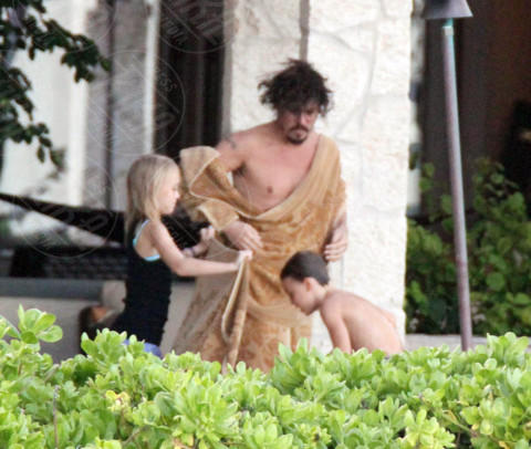 Lily Rose Depp, Jack Depp, Johnny Depp - Maui - 01-01-2000 - Lily Rose difende il padre Johnny Depp: