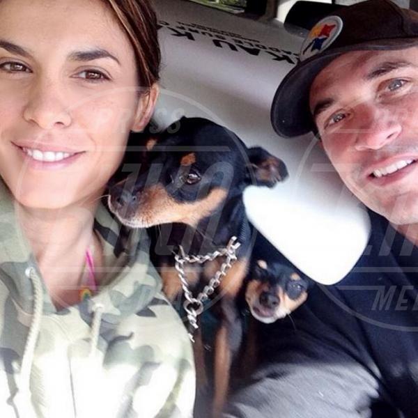 Brian Perri, Elisabetta Canalis - Los Angeles - 19-03-2014 - Elisabetta Canalis ha perso il bambino che portava in grembo