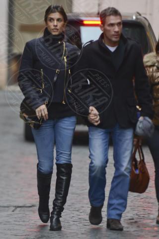 Brian Perri, Elisabetta Canalis - Roma - 24-01-2014 - Elisabetta Canalis: è cambiato qualcosa?